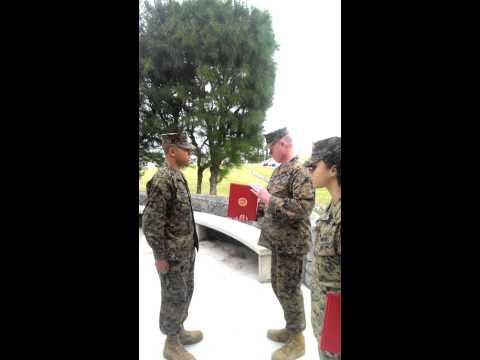 Meritorious Lance Corporal Ceremony