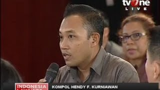 "ILC ""Kapolri"": Mantan Penyidik KPK Beri Pengakuan Mengejutkan Tentang Kebusukan Personal KPK"