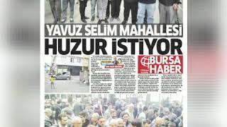 Türkiye'nin Sayılı Ve Bursa'nın En Tehlikeli Mahalleleri Olan Ulus Ve Ya