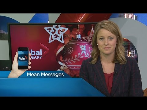 Global Calgary's Morning News team reads mean messages