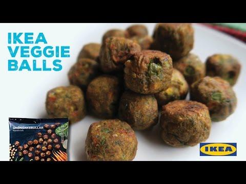 Taste Testing IKEA Veggie Balls