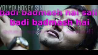 Mere Mehboob Quayamat Hogi Lyrics Video Yo Yo Honey Singh