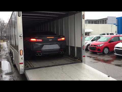 Taking delivery of a 1000hp Yenko Camaro at the dealership!