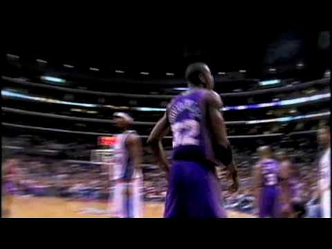 amare stoudamire  dunk on  olowokandi