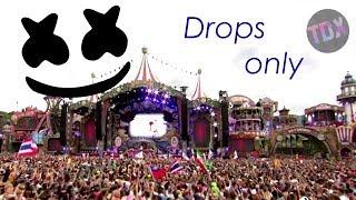 Marshmello - Drops Only - Tomorrowland 2017