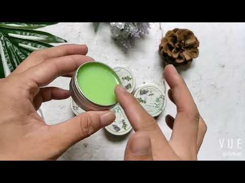 Herbal Moxa Moxibustion Cream Balm Natural Mugwort Essential Massage Oil
