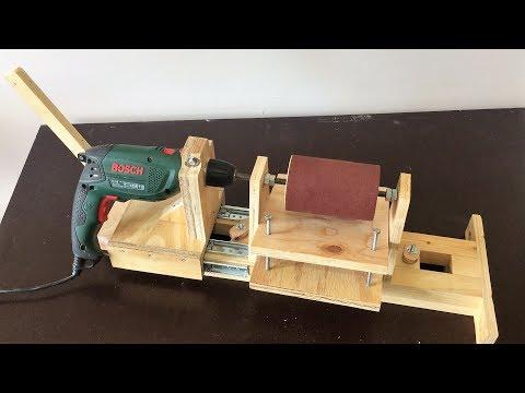 4 in 1 Drill Press Build Pt3 : Thickness Sander / 4 in 1 Sütun Matkap 3. Bölüm