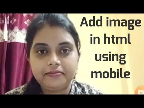 How To Insert Image In Html Using Mobile||how To Add Image In Html In Android Phone