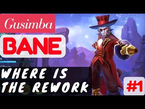 Where Is The Rework ?? [Rank 1 Bane] | Bane Gameplay and Build By Gusimba #1 Mobile Legends