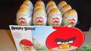 Angry Birds Movie 12 Surprise Chocolate Eggs - Huevos Sorpresa