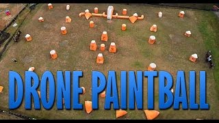 SAPC Paintball Tournament from a Drone