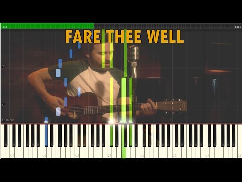 Fare Thee Well - Supernatural Version by Rob Benedict [Synthesia Piano Tutorial]
