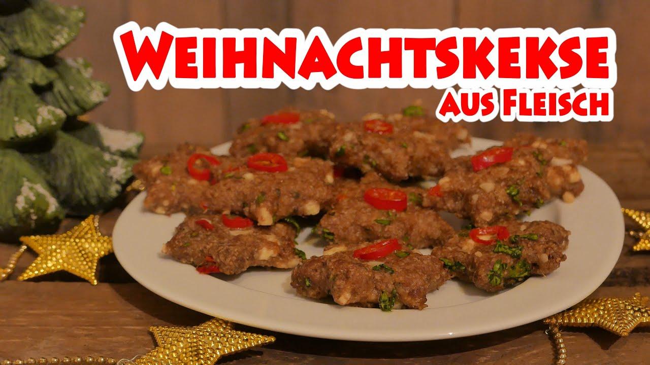 Weihnachtskekse aus Fleisch - BBQ Grill Rezept Video - Die ...