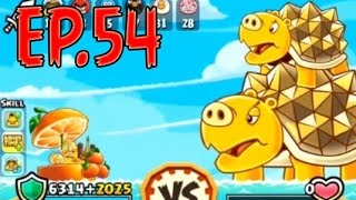 Angry Birds Fight! - MONSTER SUPER TURTLE PIG FOLKS RAID - GOLDEN MANTA SHIELD - EP54
