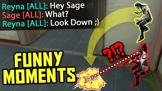 FUNNIEST MOMENTS IN VALΟRANT #13