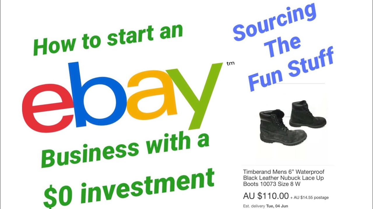 How To Start Building An Income On Ebay With A 0 Investment Sourcing The Fun Stuff Youtube