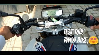 Test Ride of BMW G 310 R and GS | H.S Biker