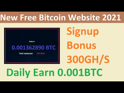 New Free Bitcoin Mining Site 2021-Free Cloud Mining Site 2021-Simplemining Review