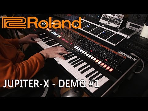 Roland Jupiter-X - Demo #1 by Stefano Airoldi