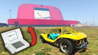 INCREIBLE! NINTENDO 3DS XL GIGANTE! - GTA 5 ONLINE