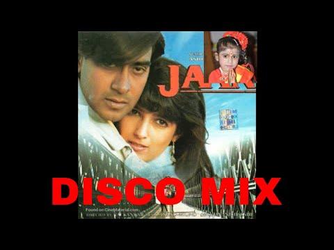 O meri jaan | JAAN 1996 | Ajay devgan | instrumental with disco mix