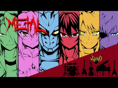 Akame ga Kill - Skyreach 【Intense Symphonic Metal Cover】