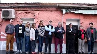"Ian Gibson lee carta abierta a presidenta de la Comunidad de Madrid:  ""Peironcely 10 debe ser BIP"""