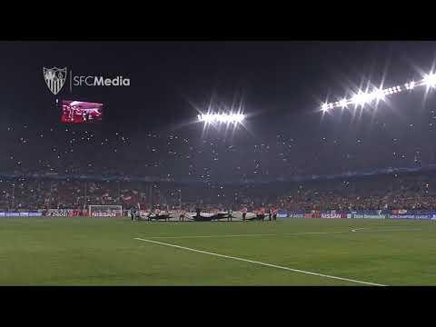 HIMNOS SFC Y LIVERPOOL 21 11 17 SEVILLA FC
