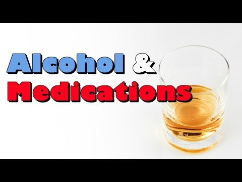 Drinking Alcohol With Your Medications
