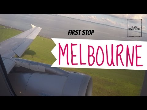 First stop Melbourne