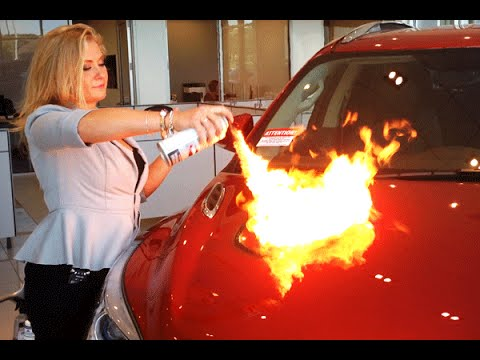 Chesrown Entire Car Protection - Auto Armor Fire Demo ...