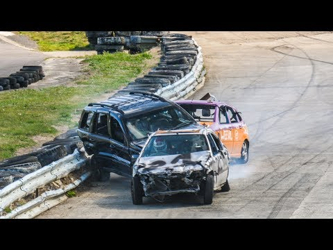 Banger Racing Angmering Raceway - CB Contact - 8th September 2019