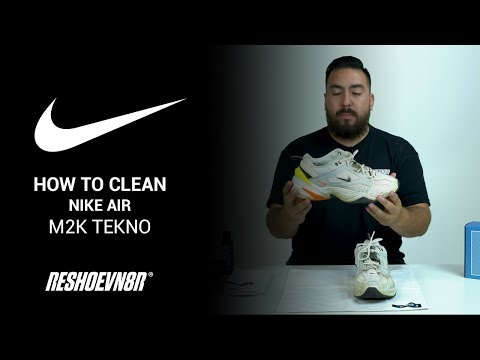 How To Clean Nike M2K Teknos With Reshoevn8r