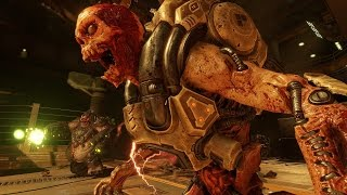 DOOM 2016 Gameplay 26 Minutes of Gameplay Walkthrough 1080p DOOM 4 Gameplay Demo