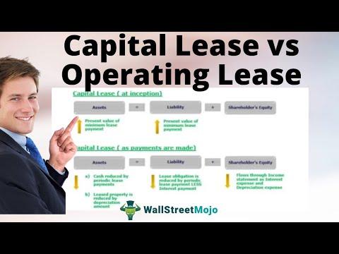 Capital Vs Operating Lease >> Capital Lease Vs Operating Lease