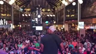 """Tailgate Watch: Jimmie Allen performs """"Best Shot"""" in Norfolk, VA Video"""