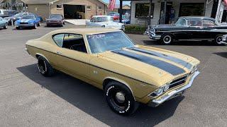 Test Drive 1969 Chevrolet Chevelle $23,900 Maple Motors #1082