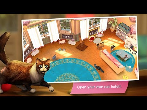 👍🐈🏠 CatHotel Play With Cute Cats & Kittens Totally Cat Tastic Cat Simulator App 👍🐈🏠