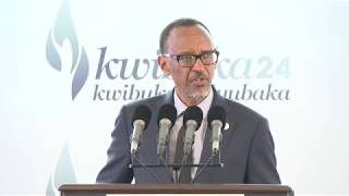 24th Commemoration of the 1994 Genocide Against the Tutsi | Kwibuka24 | Kigali, 7 April 2018