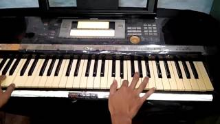 Bahubali Bgm on keyboard