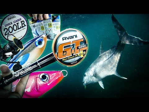 Giant Trevally Popping And Stickbaiting Tackle Talk
