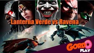 Injustice Gods Among us - Lanterna Verde vs Ravena - Gordoplay | Canal do Gordo