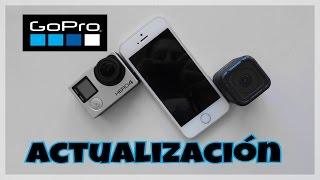 Actualización Software GoPro v05.00  DESDE TU MOVIL!! | GoPro Tip #22 | #DavisEdits