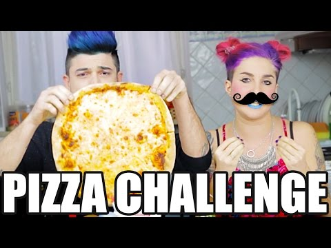 LA PIZZA CHALLENGE - Scherzi di Coppia