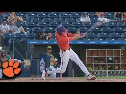 Clemson's Logan Davidson Hits HRs From Both Sides In 17-Run Inning