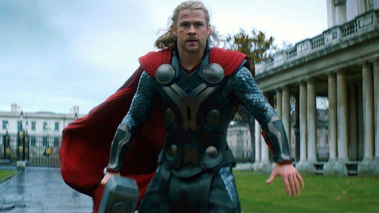 Thor vs Malekith - Final Battle Scene - Thor: The Dark World (2013 ...