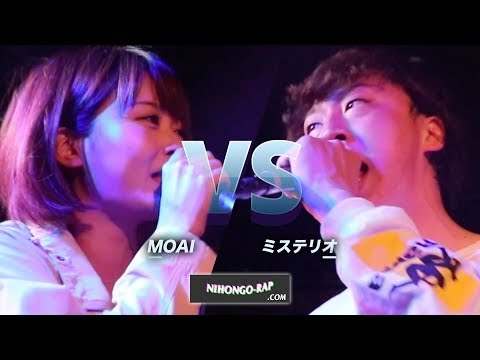 【サムネの女が本領発揮!】MOAI vs ミステリオ