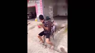 Những Thanh Niên Nghịch Dại Ngu Người Nhất Trung Quốc P2 !! Hài Bựa