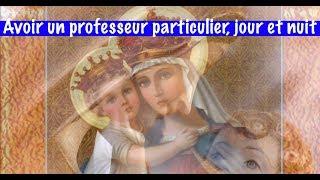 AVOIR UN PROFESSEUR PARTICULIER, JOUR ET NUIT