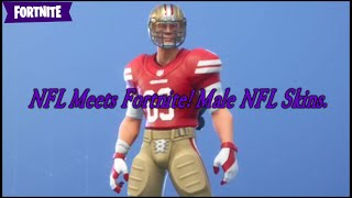 NFL rencontre Fortnite! Peau de LA NFL mâle - Fortnite Battle Royale